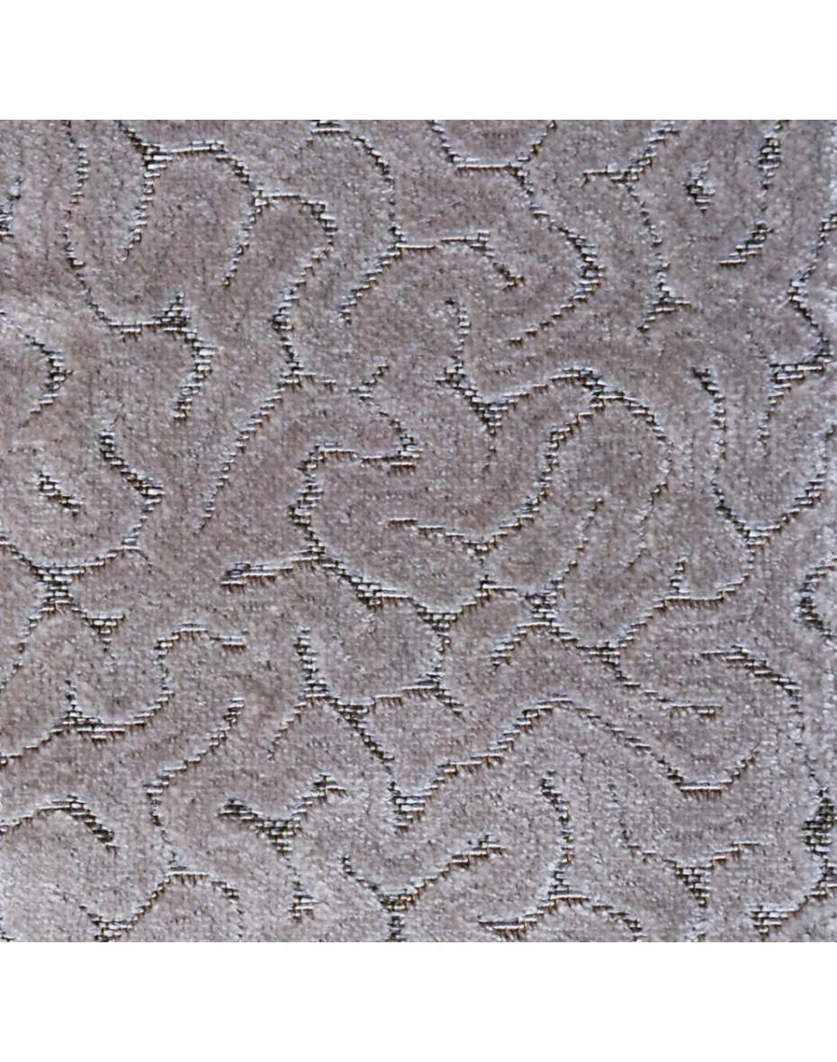Látka zamatová Mará 06 - sivá 141 cm