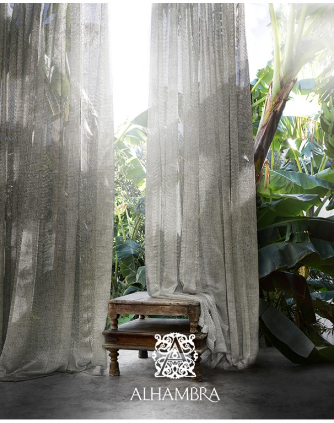 Záclonová látka Daura - dvojitá šírka Alhambra Dandelion 47.45