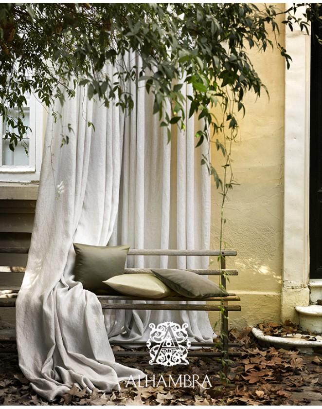 Záclonová látka Bruma - dvojitá šírka Alhambra Dandelion 41.60