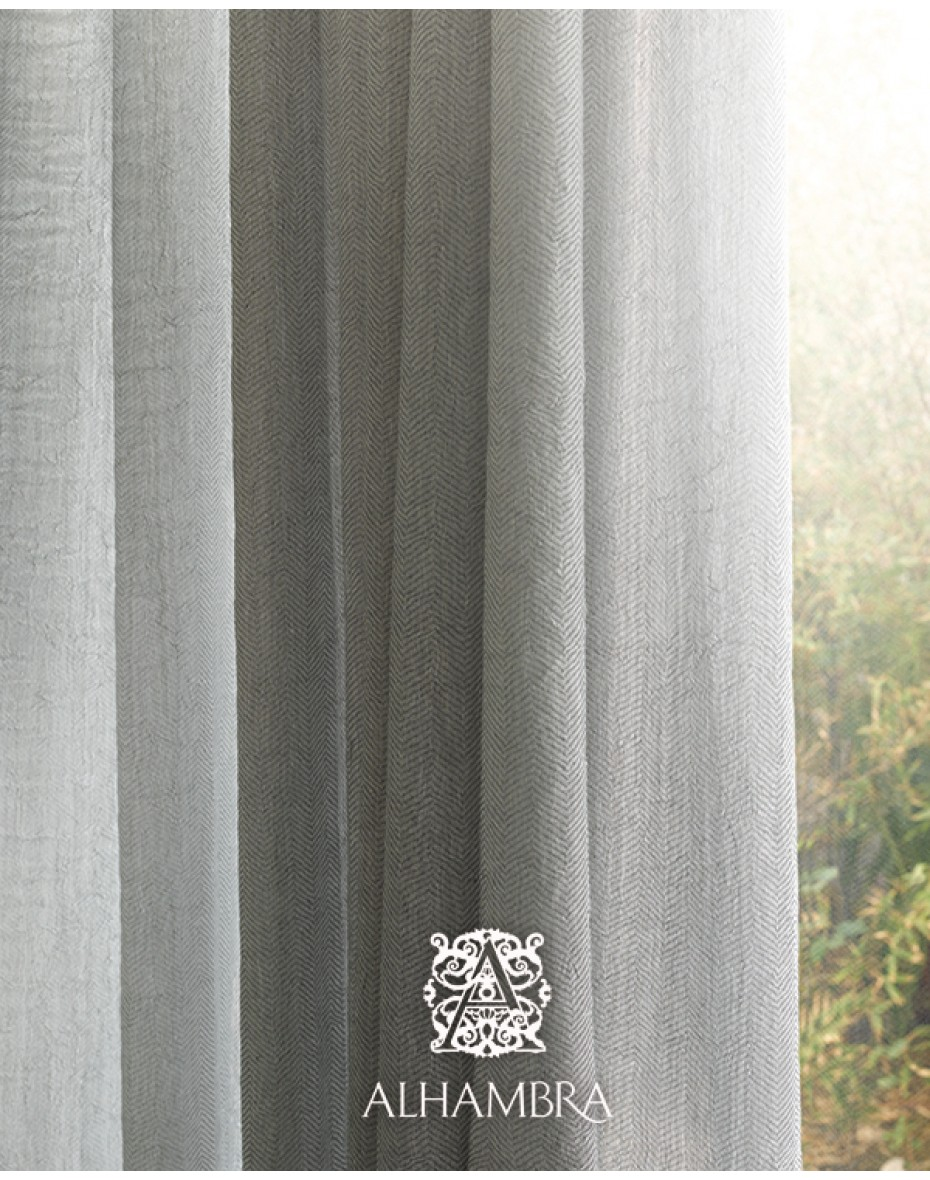 Záclonová látka Maisha- dvojitá šírka Alhambra Dandelion 57.85