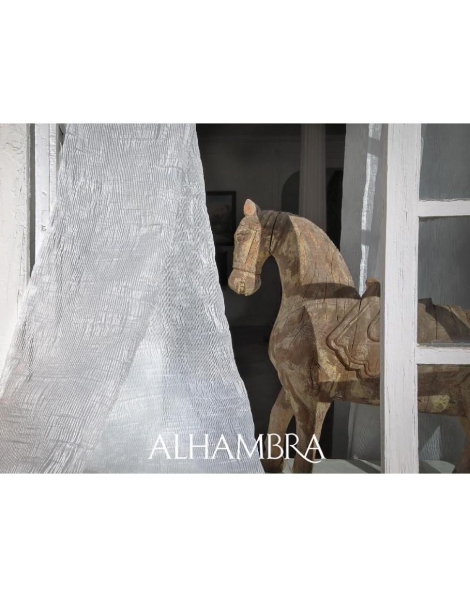 Záclonová látka Rain - dvojitá šírka Alhambra Dandelion 53.95