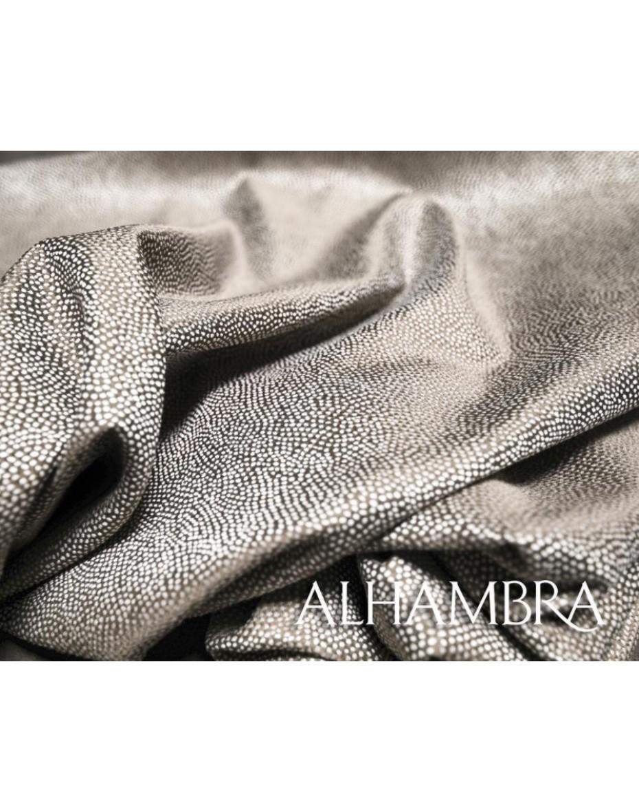 Látka Amare 01 sivohnedá v šírke 140 cm