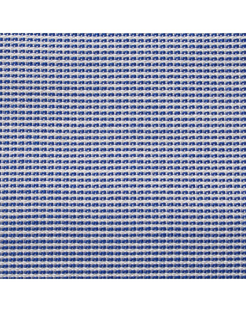 Exteriérová látka Butchard 21 - biela/modrá