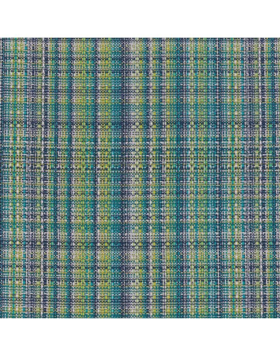 Exteriérová látka Meridienne 01 - zelená/modrá - extra 280cm
