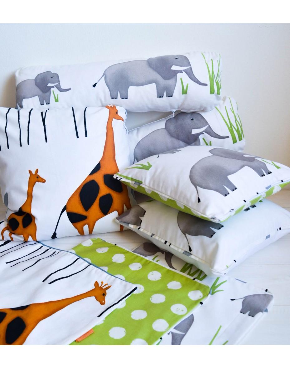 Bavlnená obliečka  Žirafa 50x50