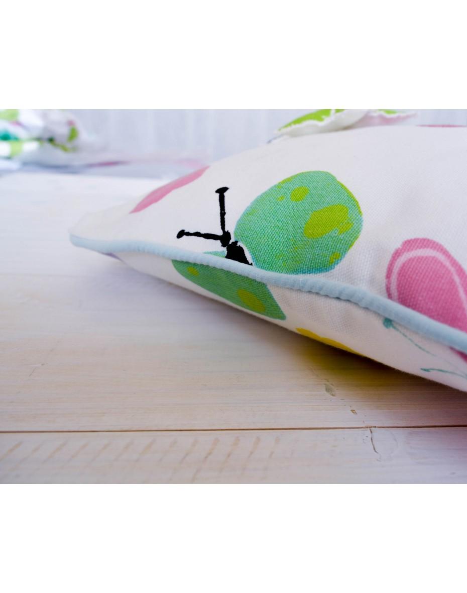 Detský vankúš - motýle Florence 40x40