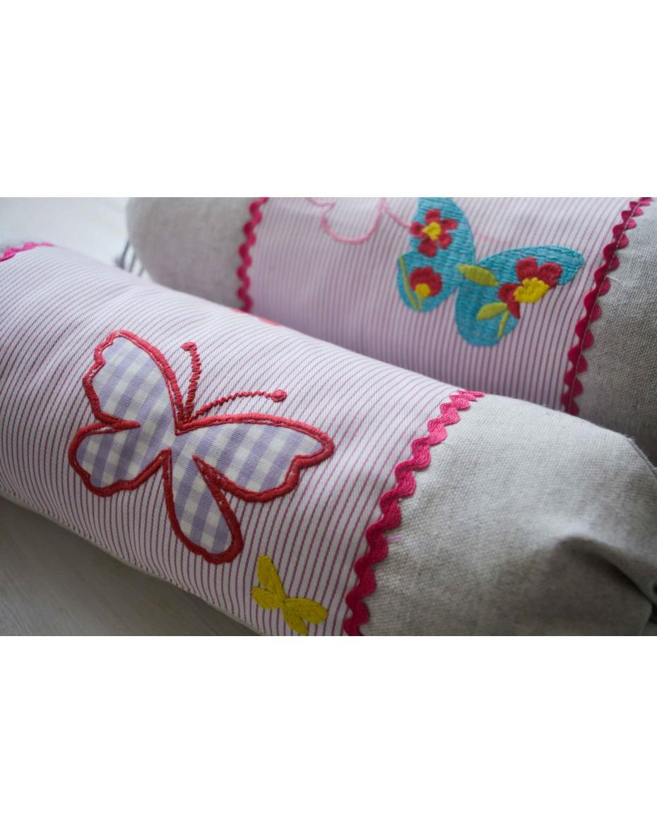 Motýľový valcový návlek pre deti, dľžka 40 cm