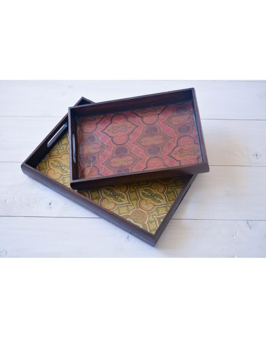 Podnos - drevená tácka 29x19x4,5