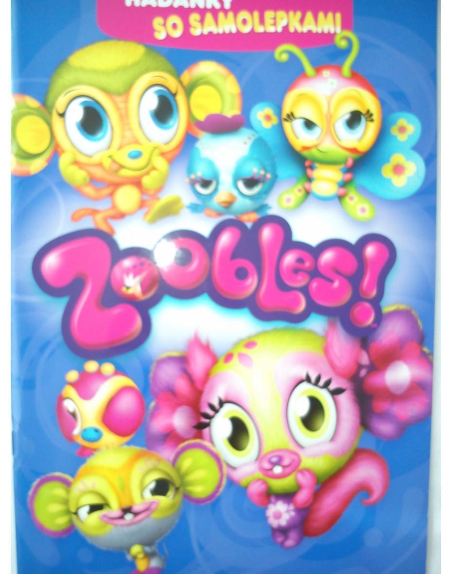 Hádanky so samolepkami Zoobles A4
