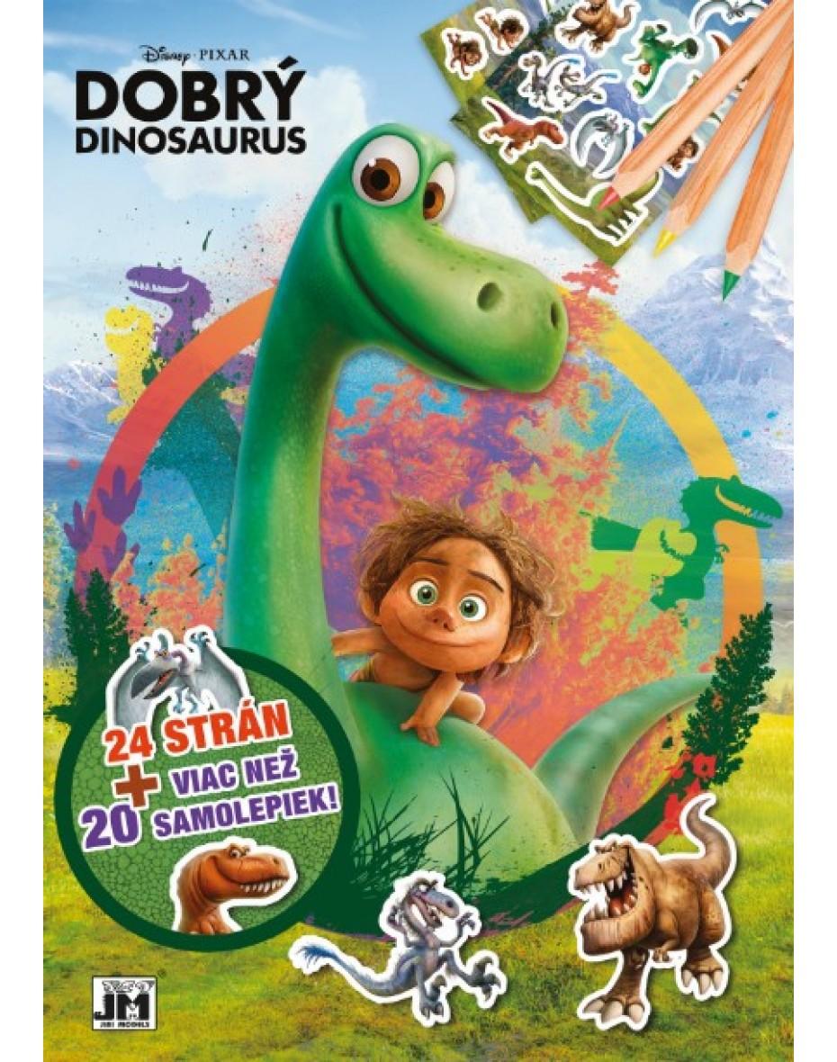Omaľovanka  Dobrý dinosaurus A4