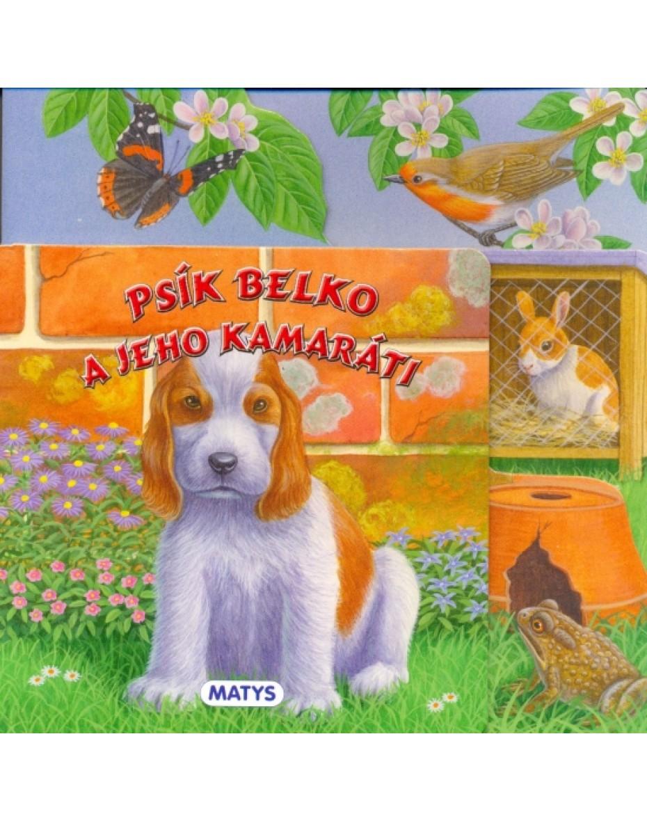 Psík Belko a jeho kamaráti - leporelo