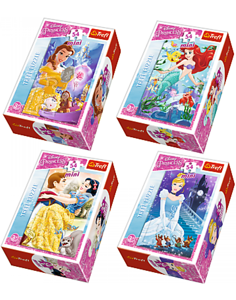 Puzzle 54 min Princezné z rozprávok