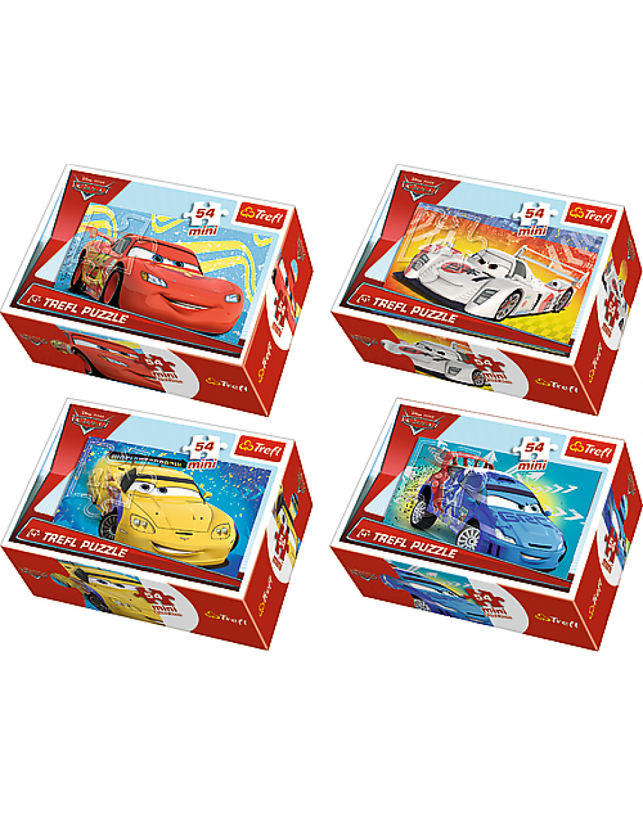 Puzzle  54 mini Cars