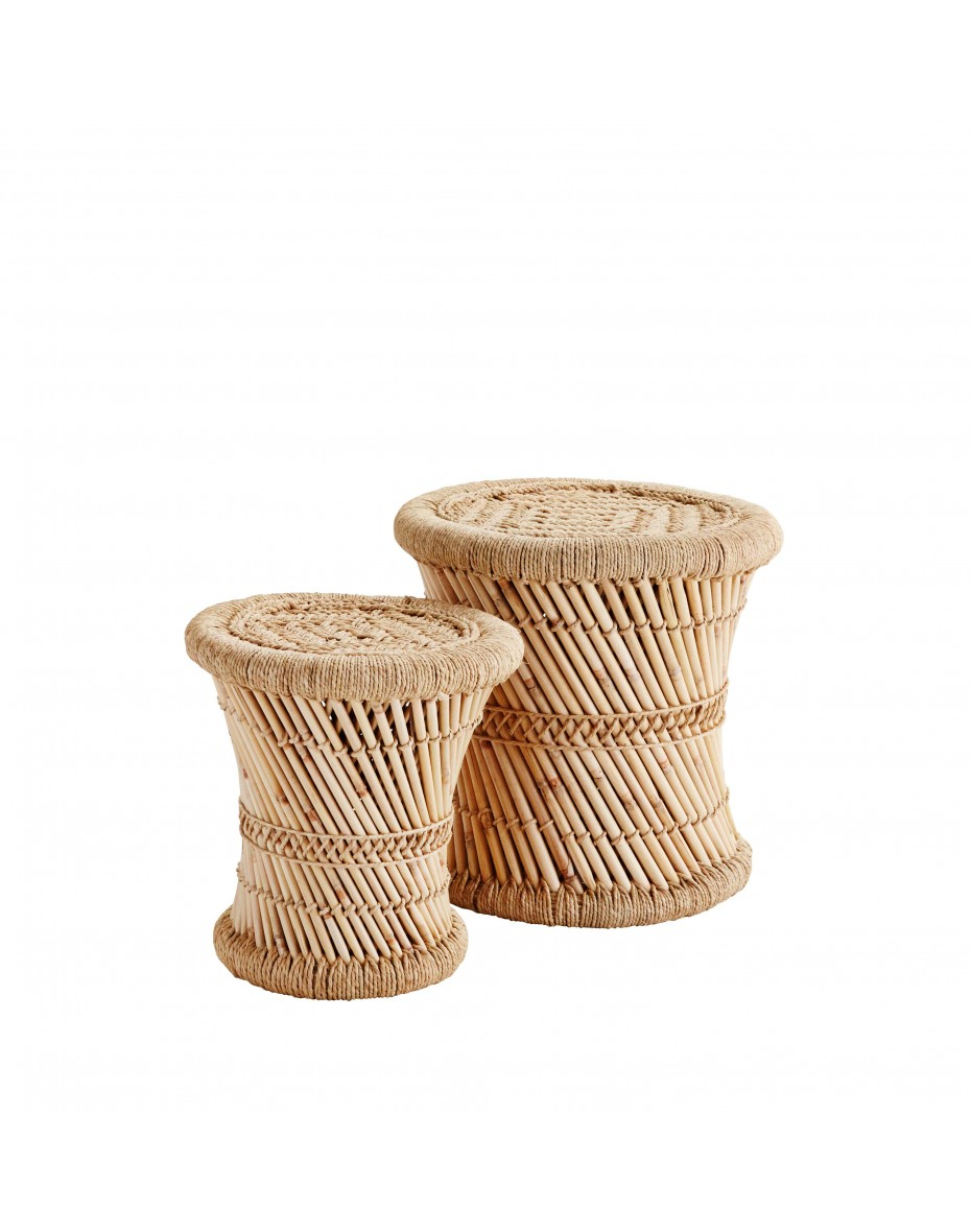 Bambusové stoličky natural 40 cm, 31 cm výška