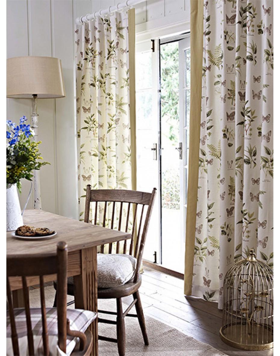 Záves bavlnený  Botany Vintage 140x240 -  rôzne farby/vzory