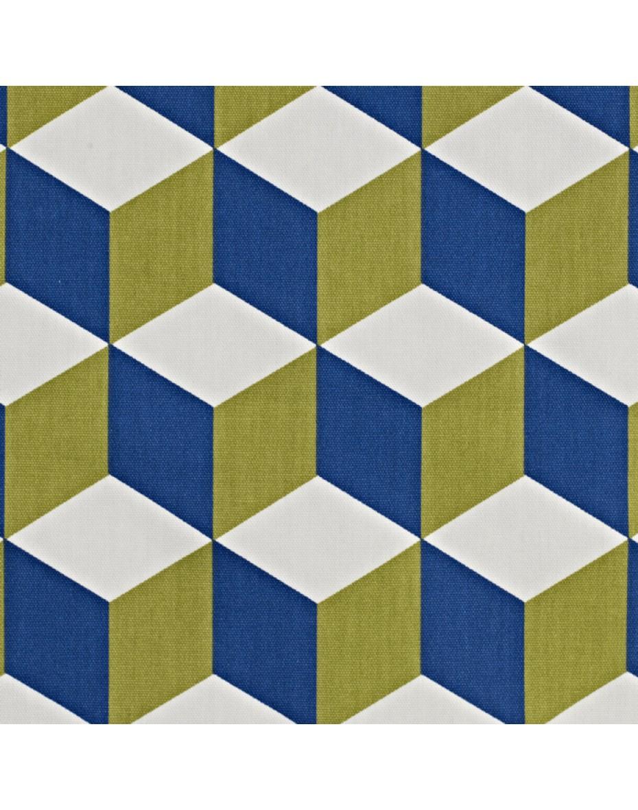 Látka Cube - Cobalt