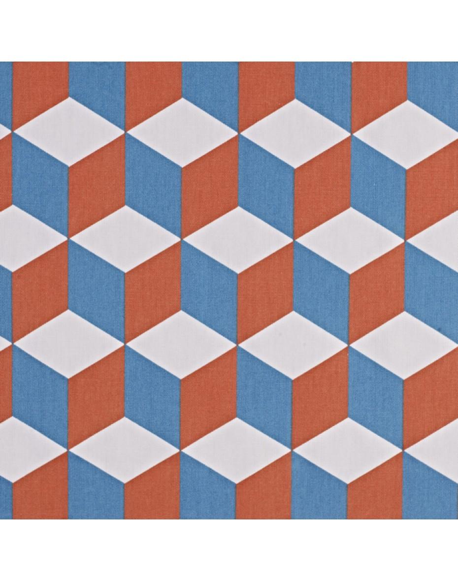 Látka Cube - Tangerine