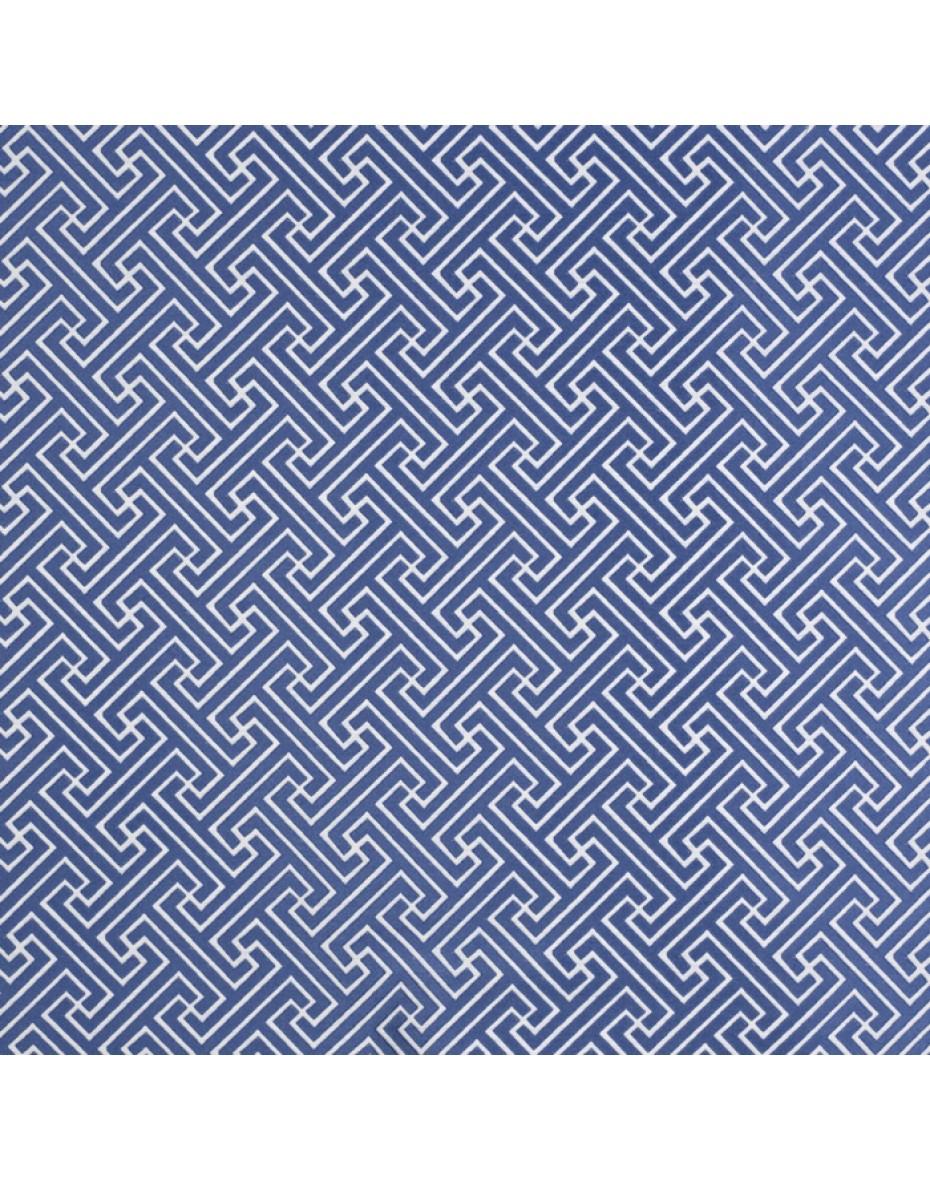 Modrá látka Key - Porcelain