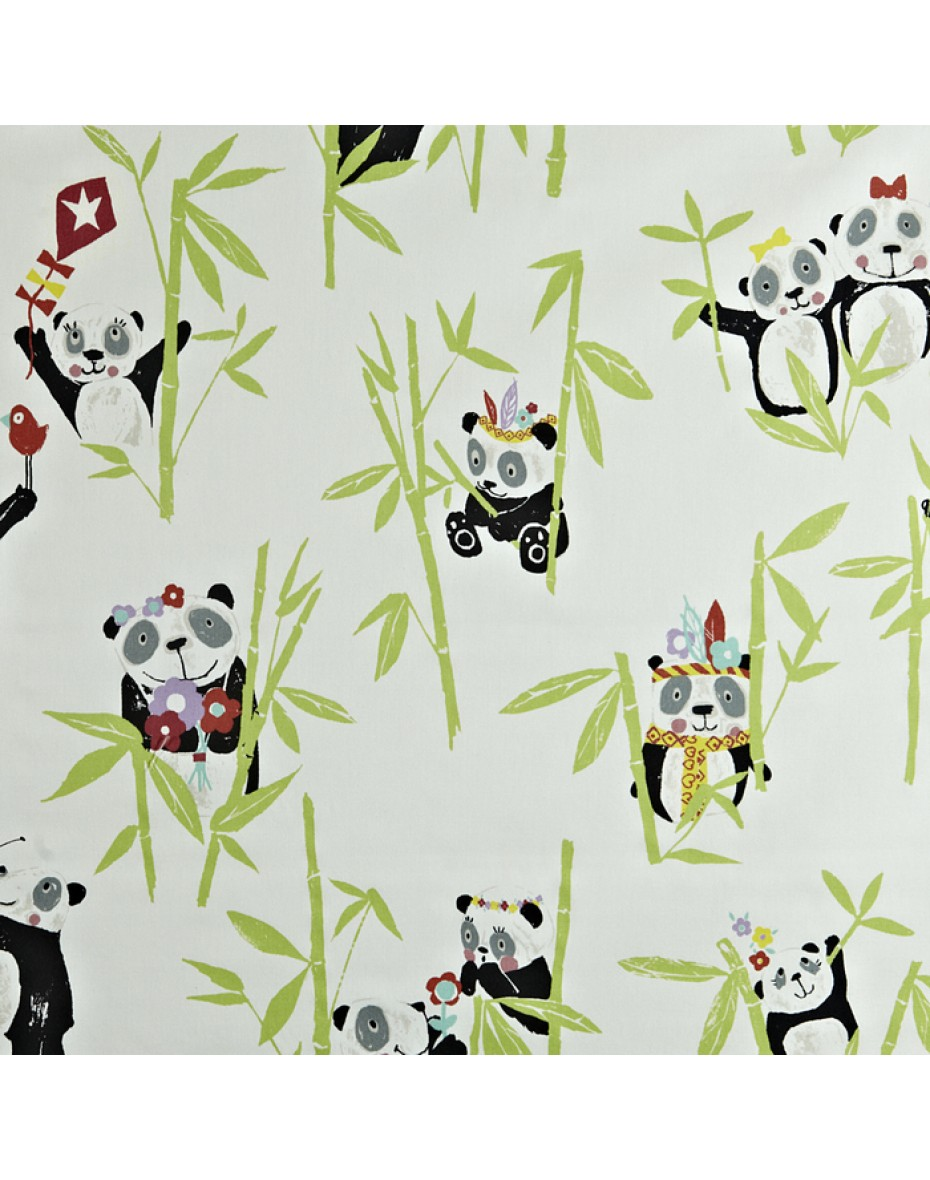Látka Panda - Bamboo