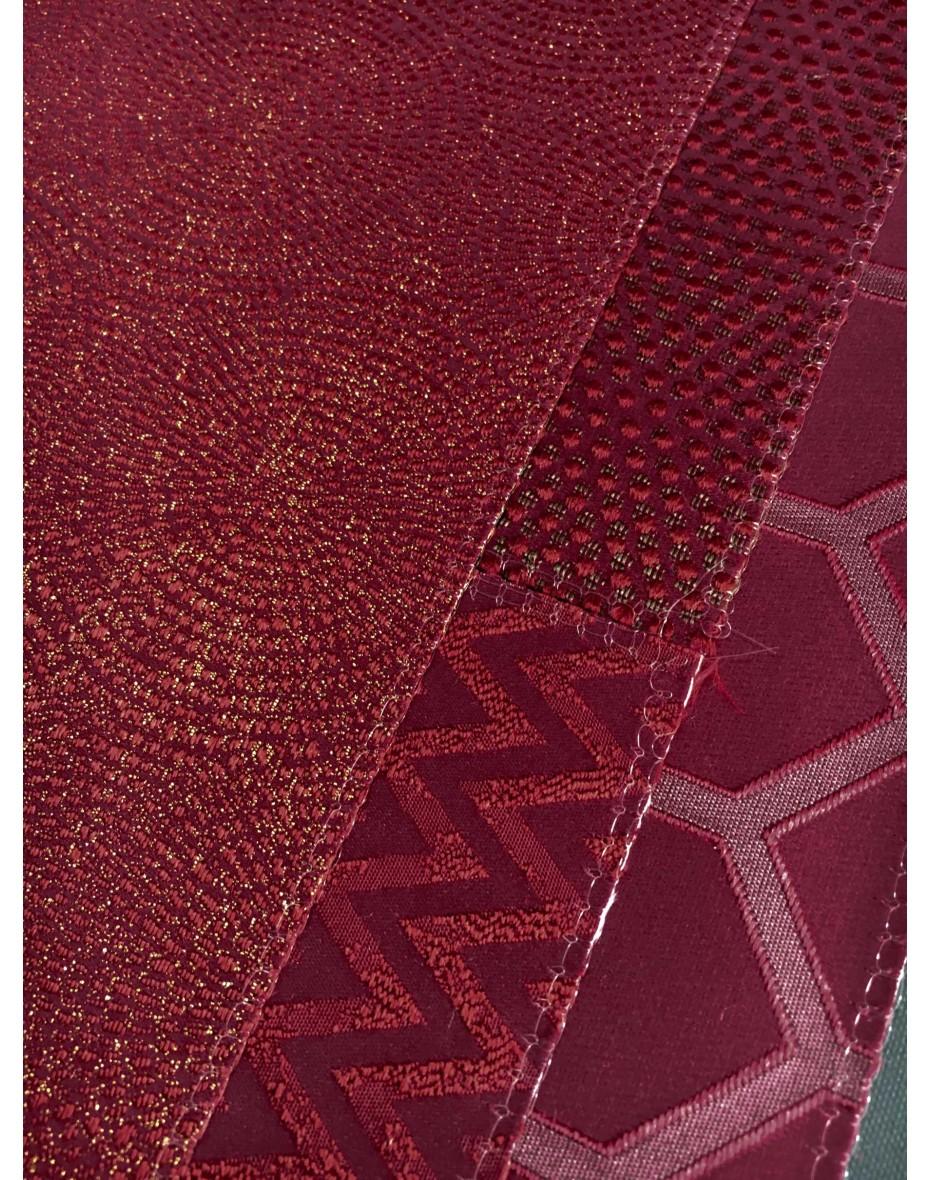 Látka Endless 3684/319 Cardinal - vínovo červená