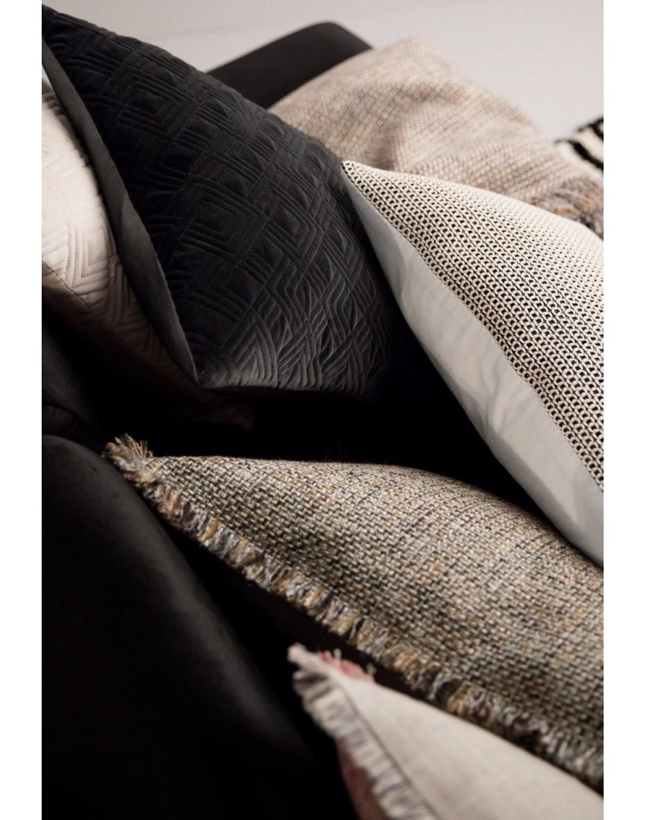 Vankúš Cuba 50x50 - čierná/sivá