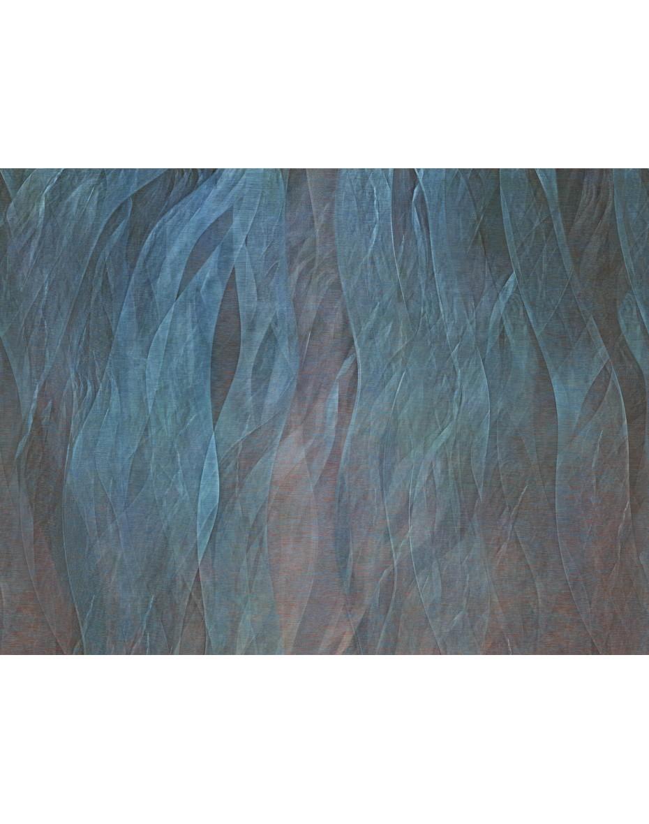 Tapetový panel Seaweads ABD21 - modrá/červená