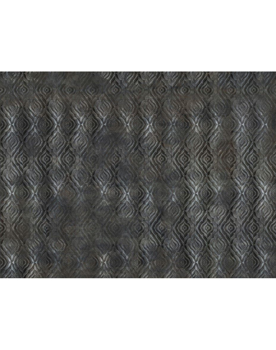 Tapetový panel Reinassance ABD44 - čierna/atracintová