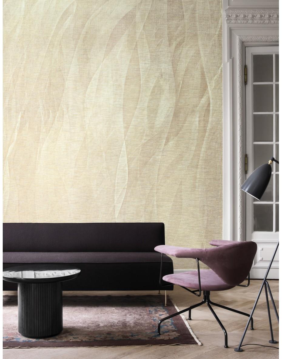 Tapetový panel Seaweads ABD24 - krémová/béžová