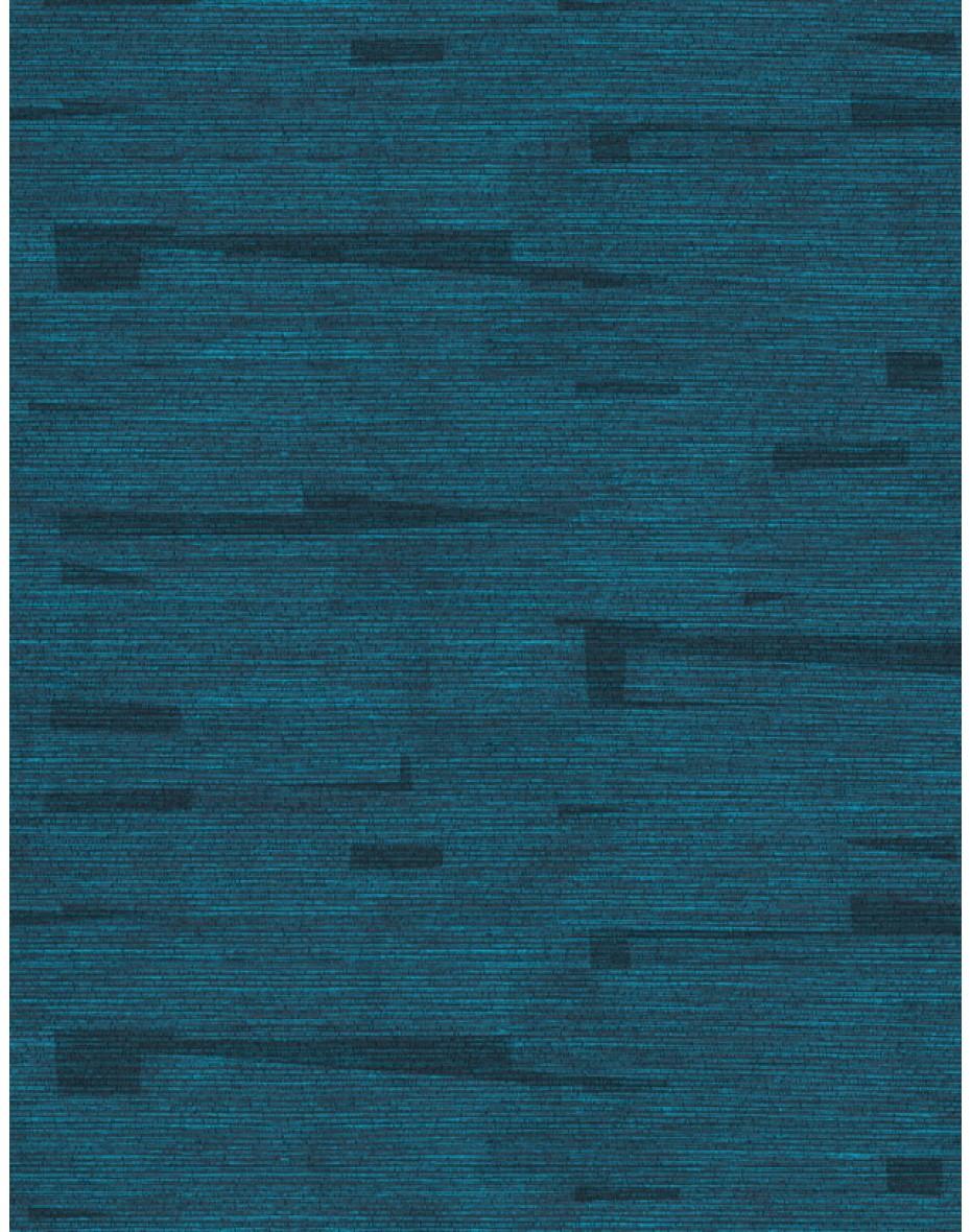 Tapeta Raphia Lapping RA411 - modrá/čierna