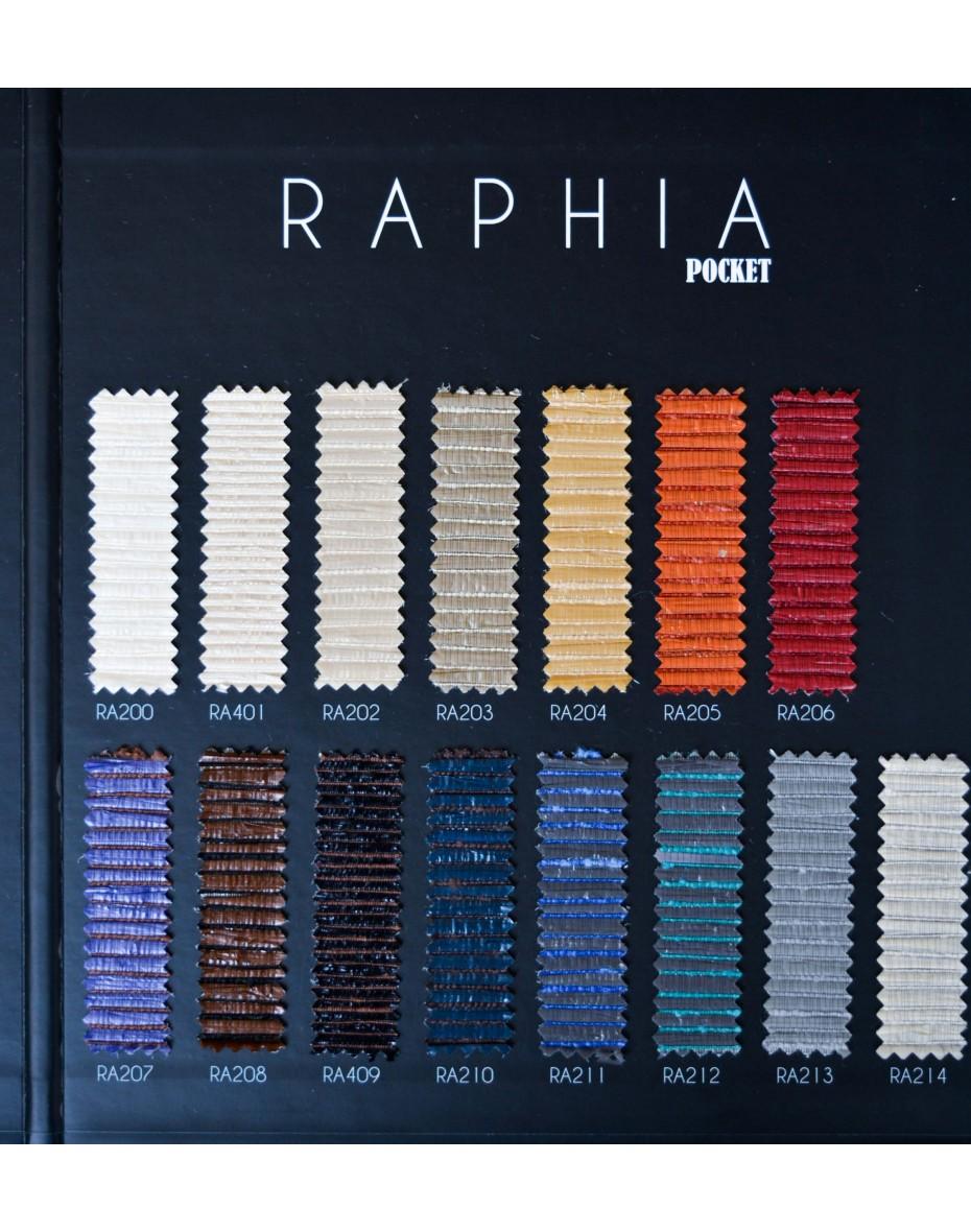 Tapeta Raphia Manila RA208 - hnedá/čierna